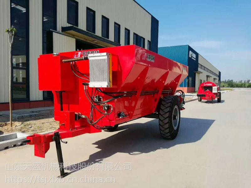天盛机械新型抛粪机,自动扬粪机,玉米施肥器