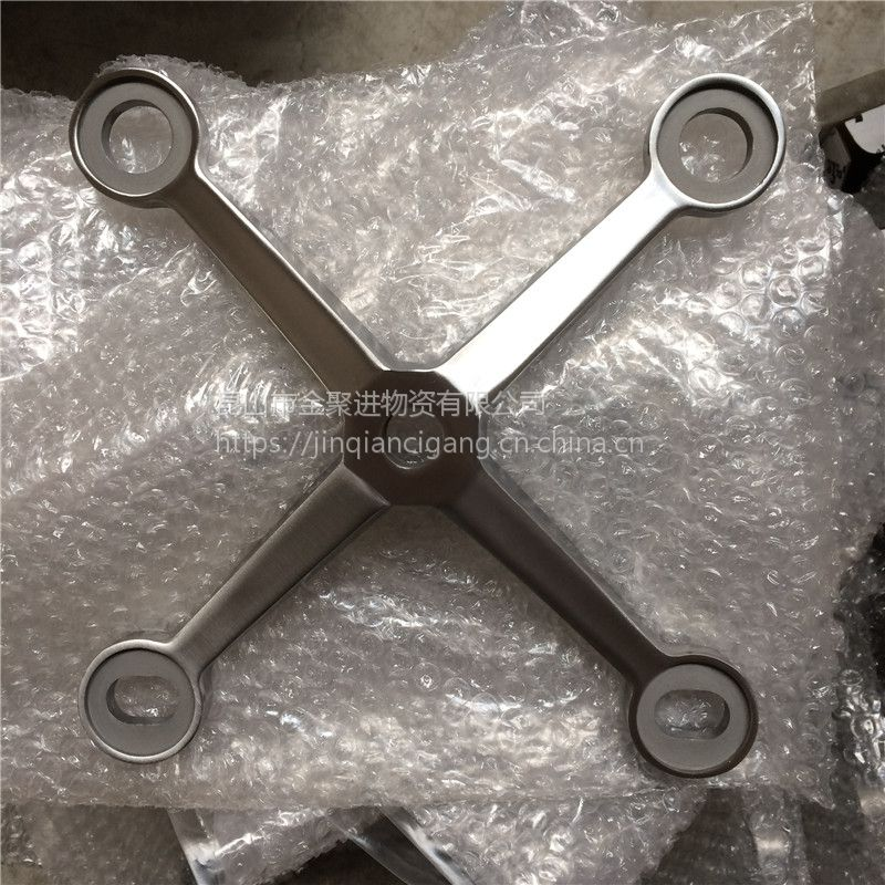 金聚进 不锈钢316新款驳接爪 出口驳接爪CD-8E 镜面肋驳件驳幕墙爪