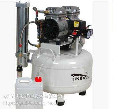 上海劲豹无油空压机型号ZLB60功率1600w排气量300L/MIN高档静音无油空压机