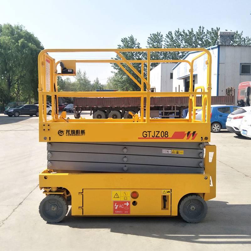 沧州厂家直销8米液压全自行式升降平台 高空维修作业车
