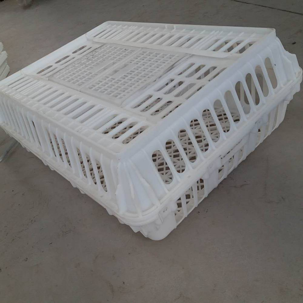 大车用装鸭笼塑料材质 PP运鸡筐 注塑鸡笼高品质