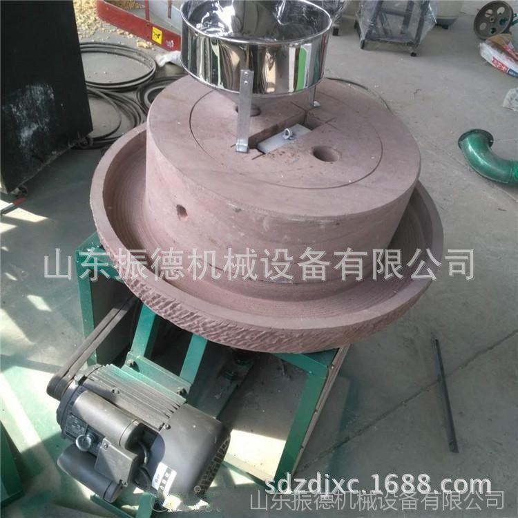 60型花生酱米浆石磨机 多用途石磨豆浆机 香油石磨机 振德热销