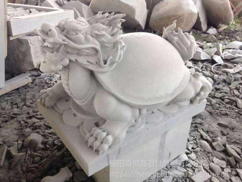 备受商家青睐的石雕招财龙龟雕塑
