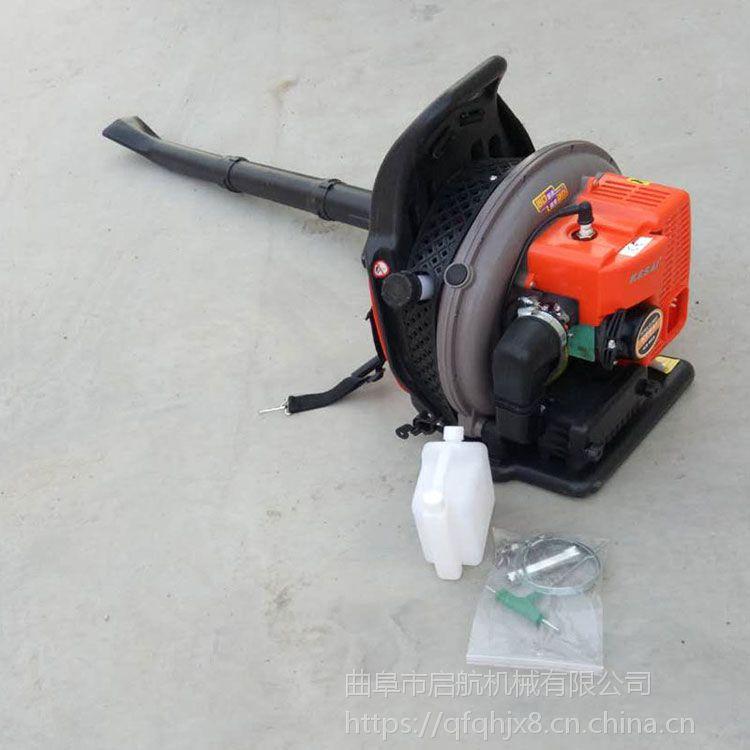 家用烟囱吹尘机 启航轻便型路面清理吹风机 汽油2冲程背负式铁路吹雪机