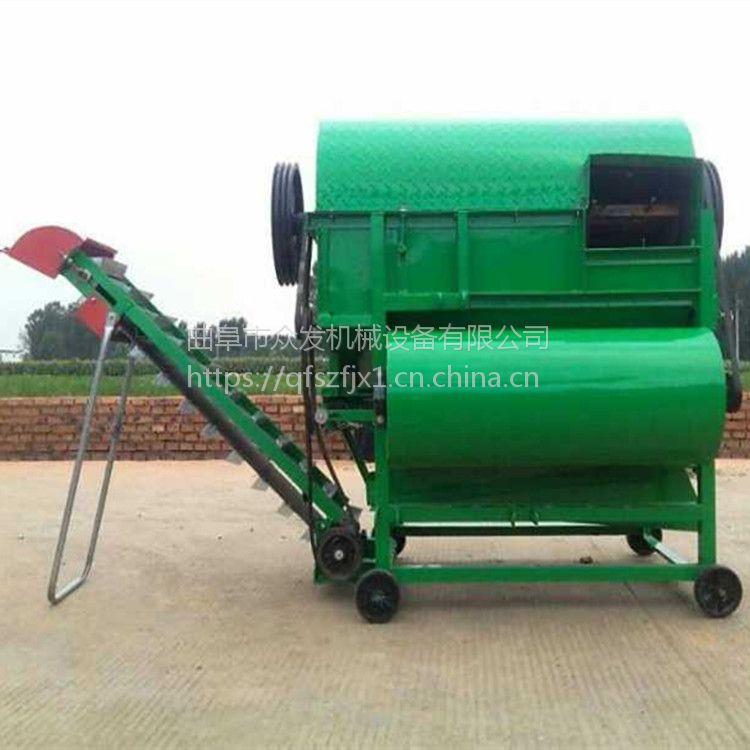 无破损鲜花生摘果机 干湿两用花生去秧机 自动灌袋摘果机