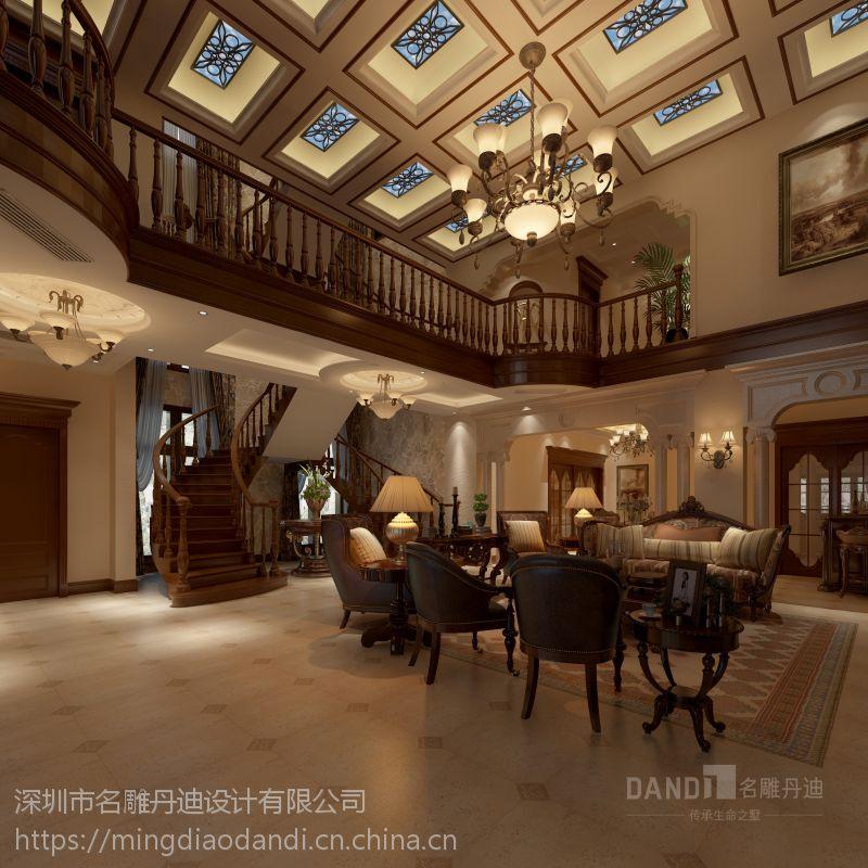 百丽湾云墅-美式风格-500平米
