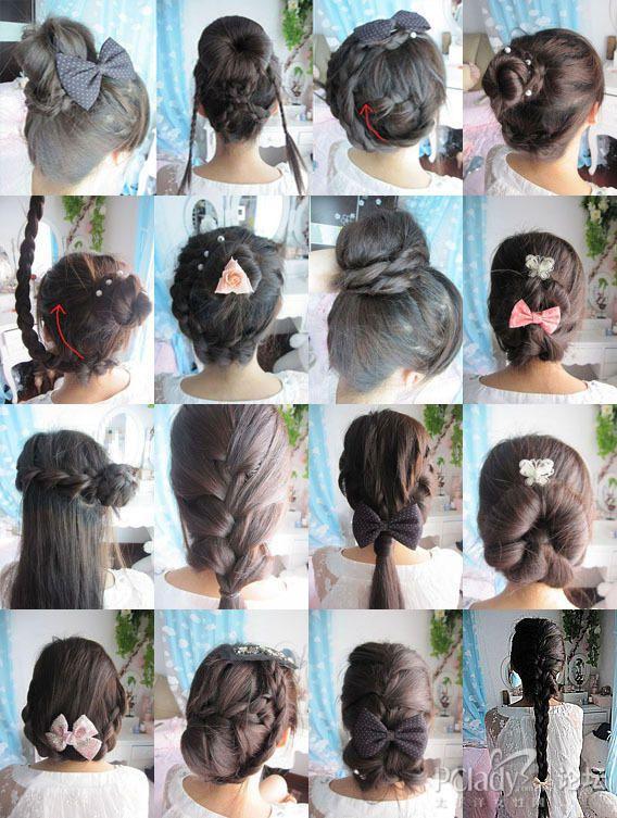 发型时尚造型编发器发型编美眉DIYv发型编辫有纪内田发夹图片