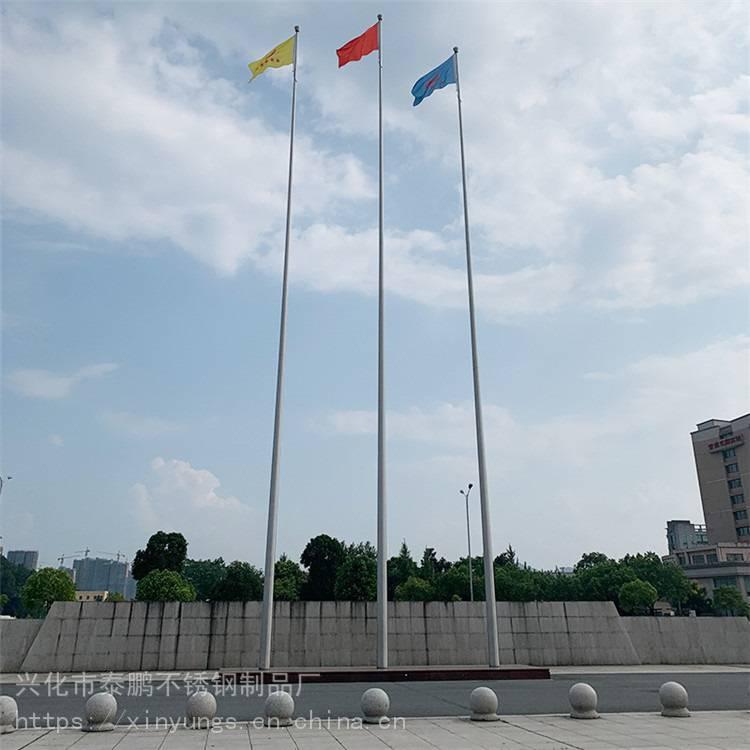新云 哪里有优质不锈钢旗杆厂家 杭州武林广场不锈钢旗杆