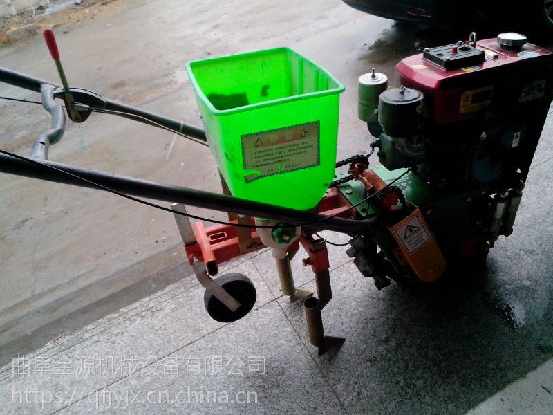 手扶拖拉机玉米播种机花生大豆化肥播种机