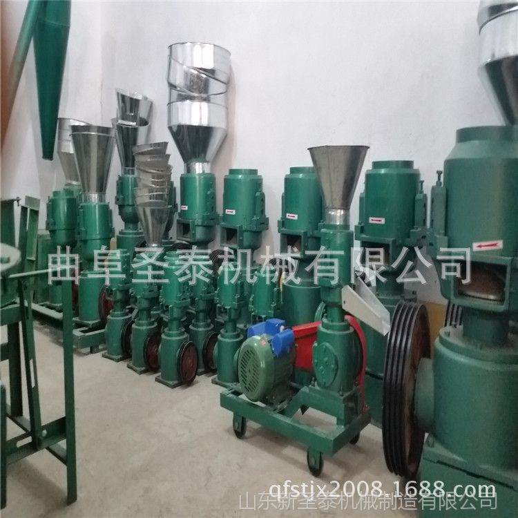 供应200型饲料机械成套设备 立式制粒机报价