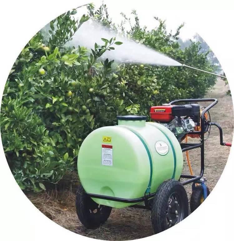 厂家直销汽油高压打药机园林树木消杀机160L推车式喷雾器