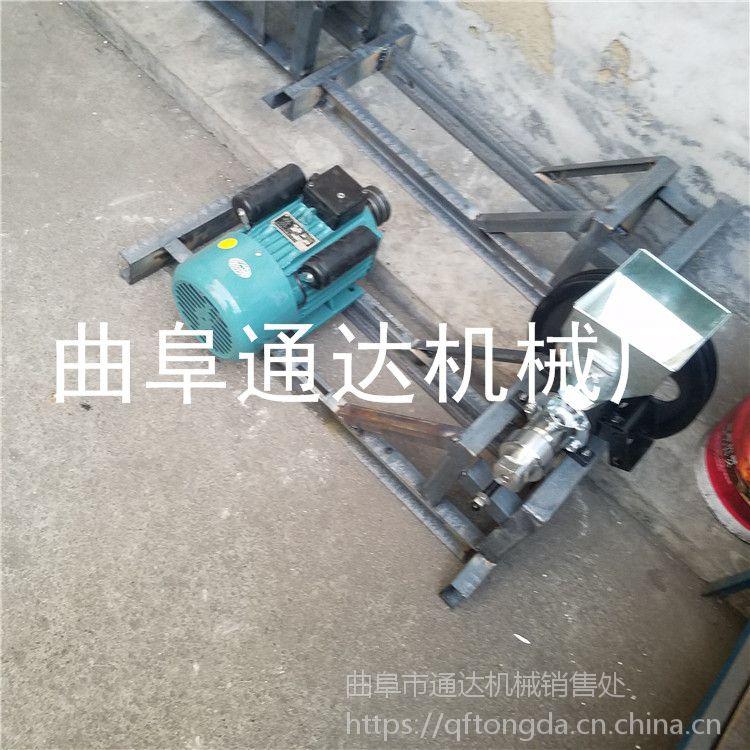 大米膨化机生产厂家 汽油机带动玉米膨化机 通达 江米棍机技术