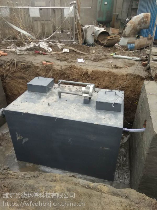 宁晋地埋式一体化污水处理设备誉德