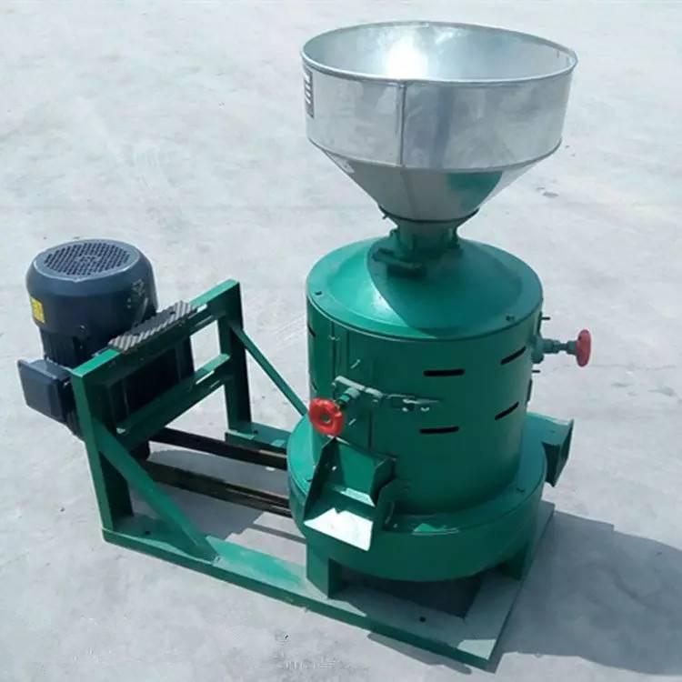 去皮新式碾米机 铁棍式皂角脱皮机 经济实用砂辊打米机售后