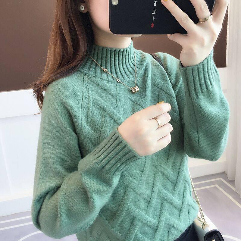 便宜毛衣韩版时尚针织衫套头毛衣批发地摊货清仓女士羊毛衫低价清