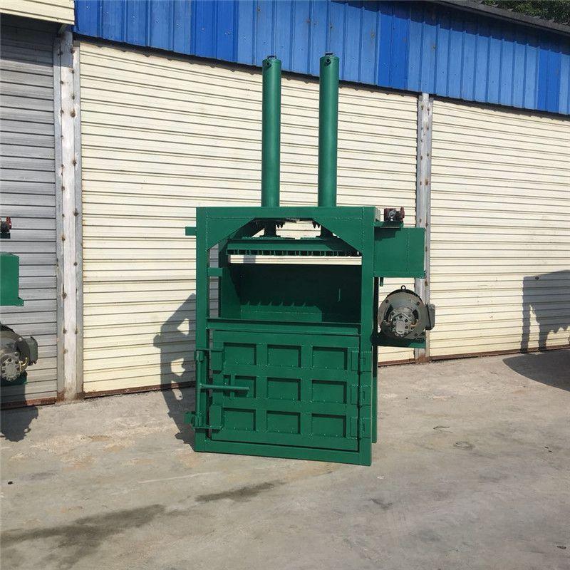 160吨塑料瓶液压打包机 废旧易拉罐打块机 生活垃圾压扁机厂家