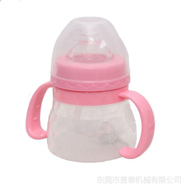 东莞厂家奶瓶 可oem贴牌加工定制 防摔防胀气 硅胶奶瓶 母婴用品