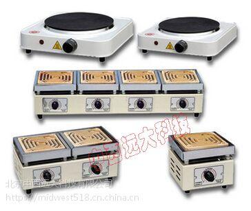 中西 四联电炉(额定温度400)库号:M405756 型号:TT30-DK-98-LL