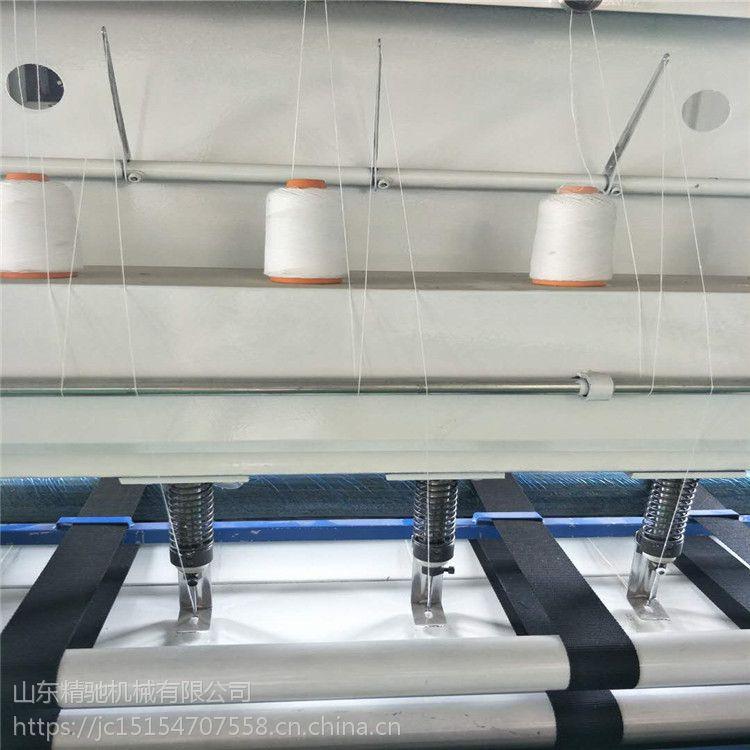 仿手工不留被头的绗缝机 直线线棉被机价格报价
