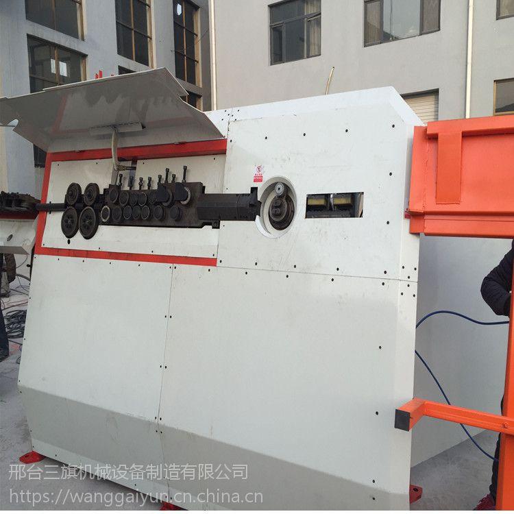 生产钢筋弯箍机钢筋套子机现场操作