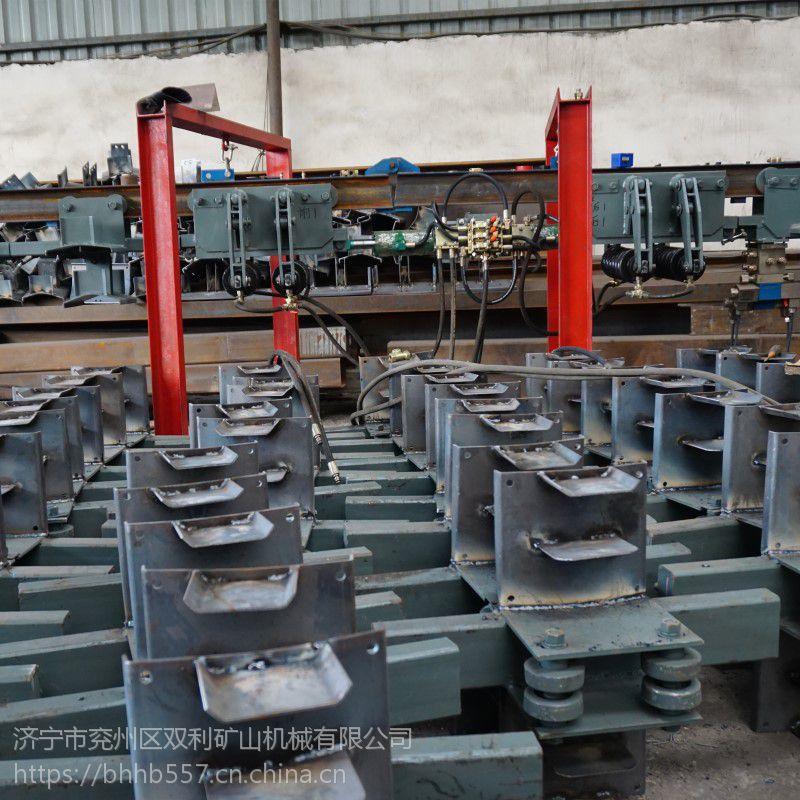 四台矿电缆水平输送设备DGY-150矿用液压电缆拖挂单轨吊