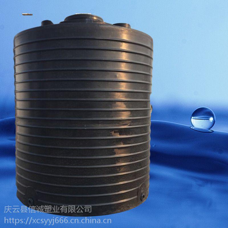 山东信诚20立方装水塑料大桶防腐蚀纯原料20吨pe储罐生产