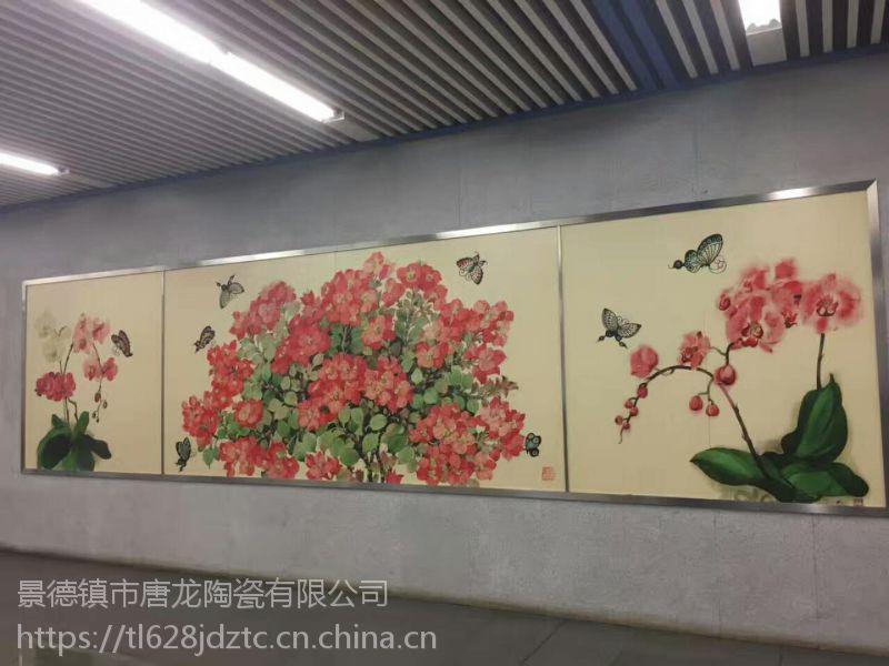 大型背景墙壁画定做,中式家居办公室室内装饰