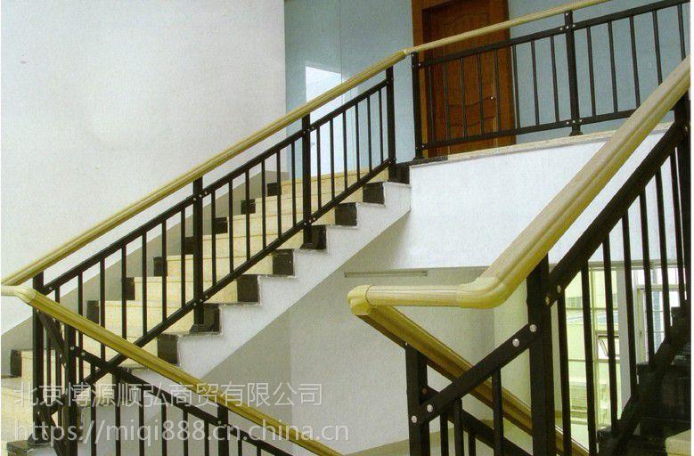 漯河锌钢楼梯扶手,漯河消防靠墙扶手,烤漆楼梯护栏,HCQ235喷塑阳台栏杆