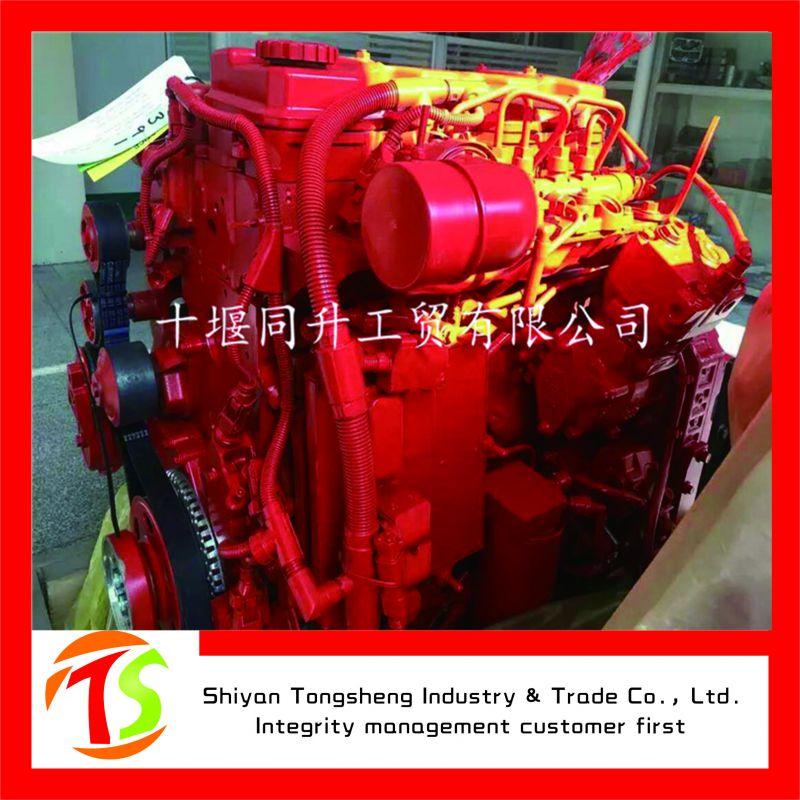 6缸东风康明斯6BTA5.9-130柴油发动机配三一重工SY215CLC挖掘机