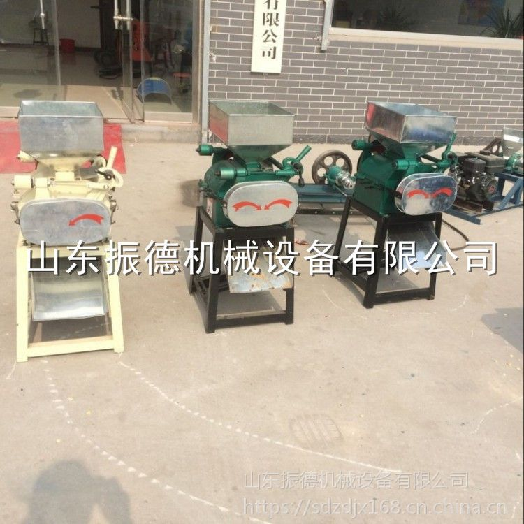 振德牌电动玉米高粱破碎机 花生米压碎机 热销花生米破碎机