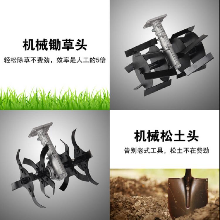 大马力割草机【一键启动】汽油松土机 背负式YD锄草机