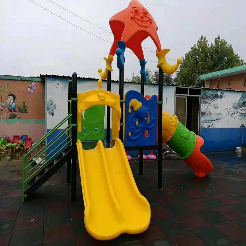 石嘴山市幼儿园滑梯2017年价格,大型组合户外滑梯售后好,品质高
