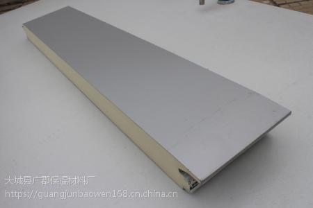 长沙夹芯板 pir冷库保温板 pur聚氨酯夹芯板 冷库板价格