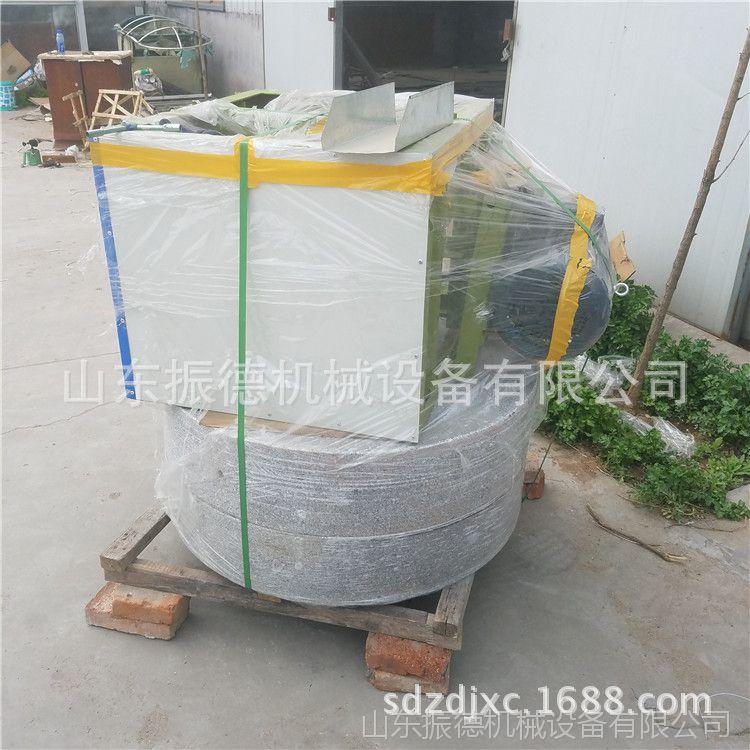 石盘式面粉石磨 热销全自动米面机械  优质电动石磨 振德供应