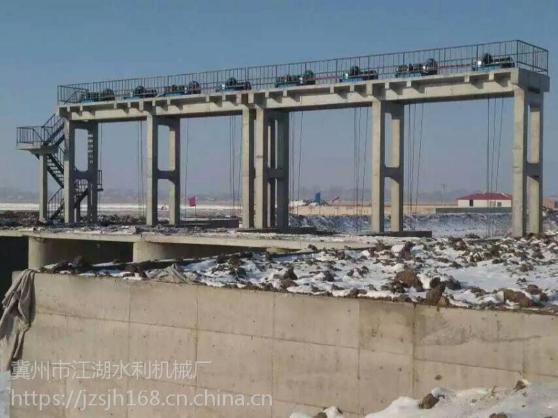 福州启闭机 厂家直销 12T QPQ双吊点卷扬式启闭机