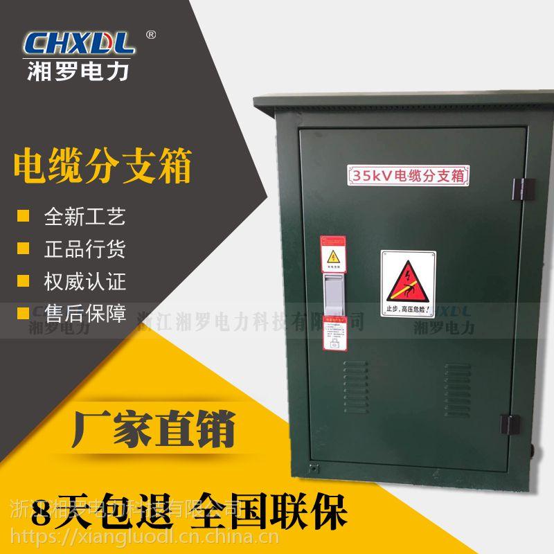 湘罗电力直销35KV欧式电缆分接箱分支箱一进一出