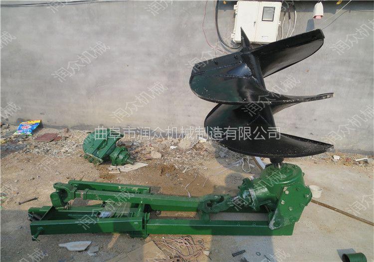 四轮拖拉机钻穴机 大功率植树挖坑机 可自由选配钻头挖坑机润众