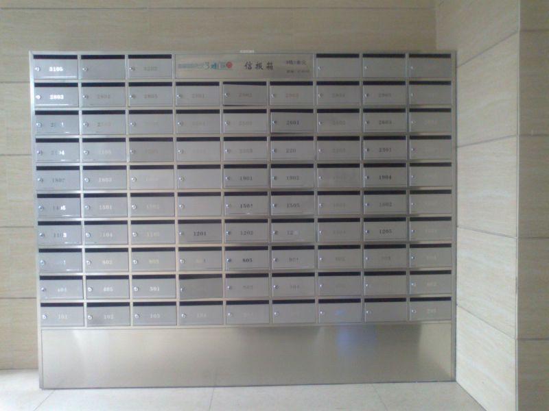 落地信报箱,不锈钢材质双久制造