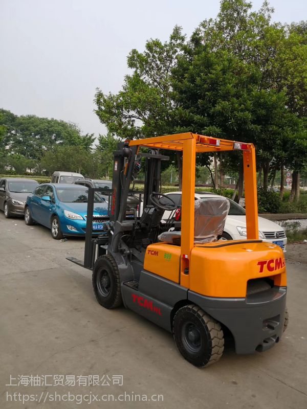 转让三包TCM合力3吨叉车二手FD30T6合力叉车