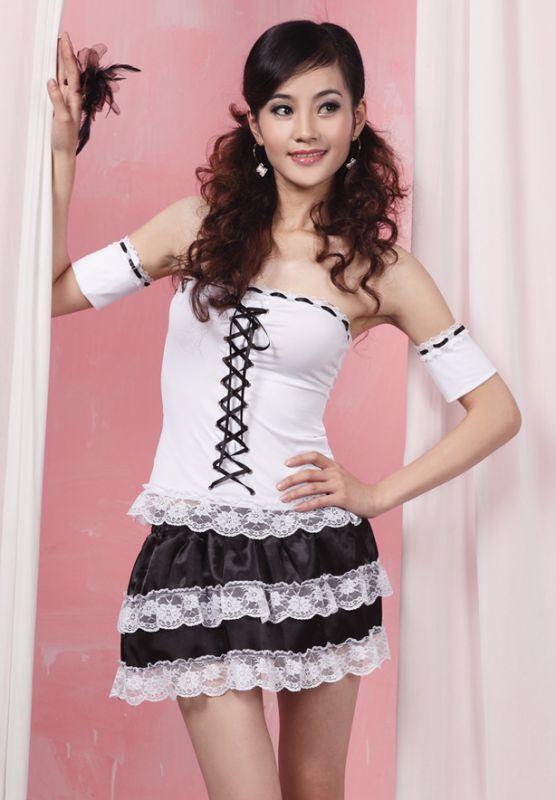 定做甜美女佣服 女仆装 公主服 情趣制服 舞台 演出服时尚 舞蹈服