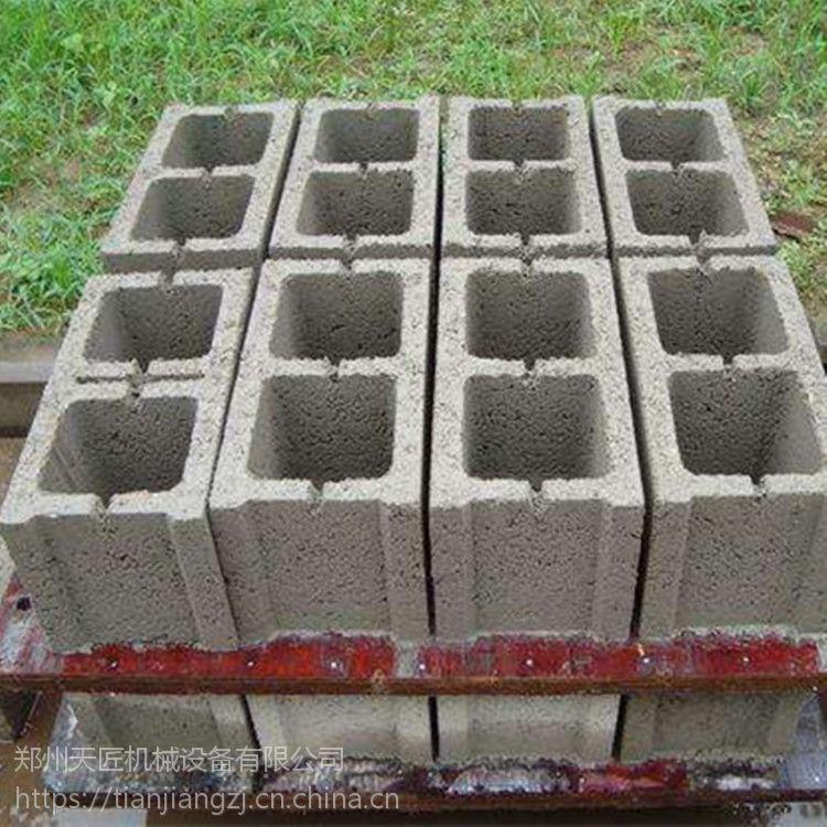 天匠供应大型10-15免烧砖机 多功能空心砌块机 水泥制砖机器