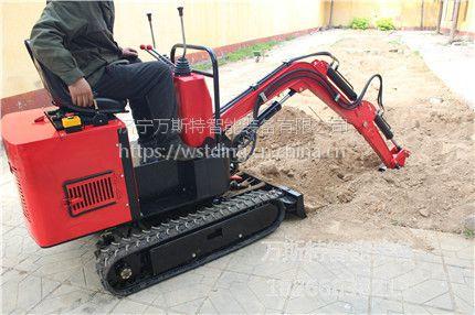 广东番禺 山东万斯特履带挖掘机 国产微型小挖掘机 小型挖土机 小型挖沟机