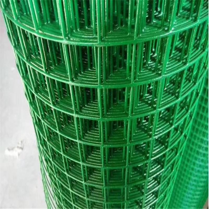 养殖用铁丝网 绿色铁丝网批发 圈地荷兰网多少钱