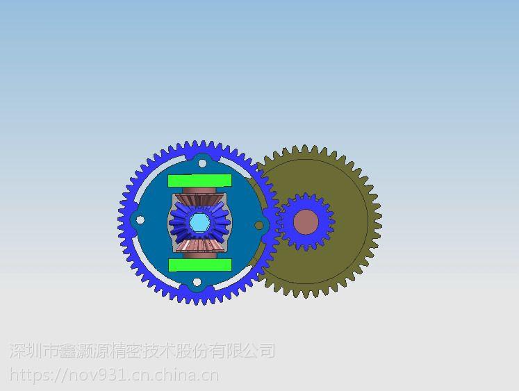 定制扭矩转速微型齿轮箱_无杂声无噪音大扭力齿轮箱电子产品设计专业配件
