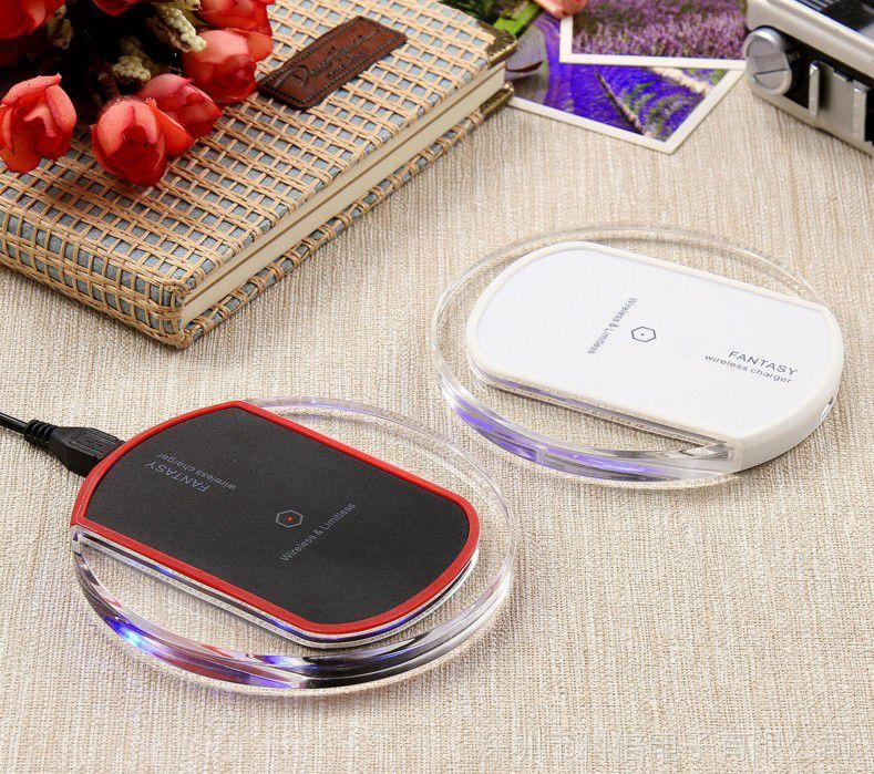 水晶K9无线充电器5v1适用苹果8x手机接收器贴片qi数码礼品工厂直