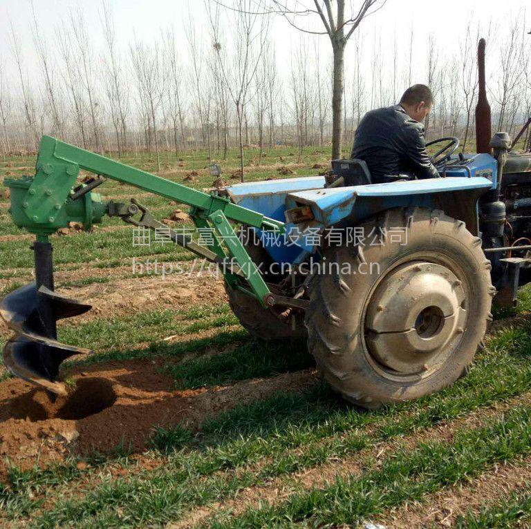 菜园子篱笆桩打洞机 富兴汽油挖坑机 园林苗圃打洞机价格