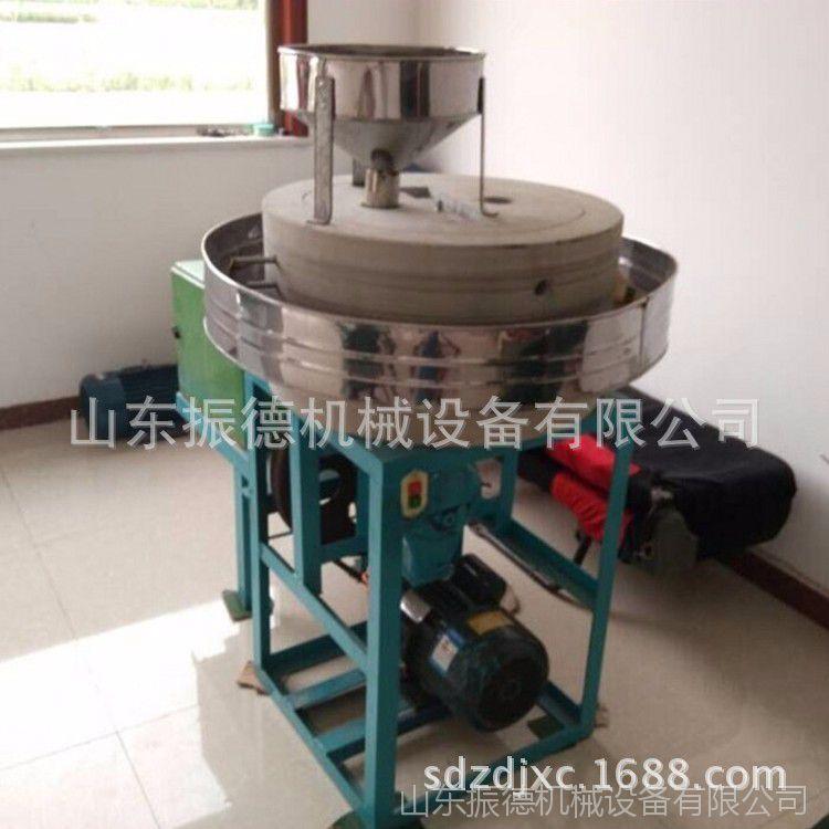 现货供应 高粱荞麦石磨机 电动面粉石磨机 低温碾磨电动石磨 振德