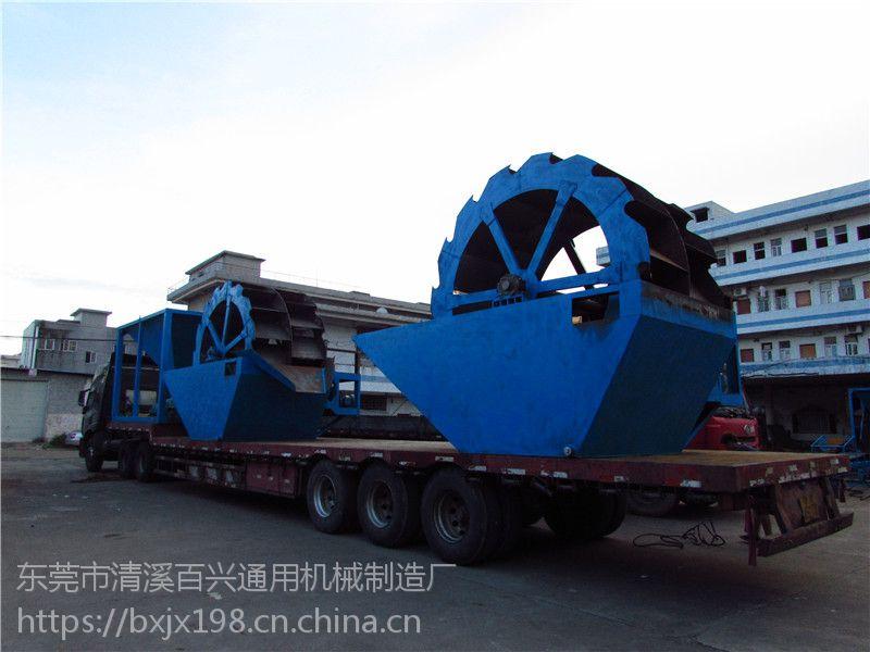 广东新型洗沙机设备厂家轮式洗沙机定制轮斗式洗沙机图片说明