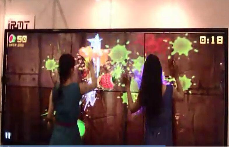 上海国际数字标牌展IRMT精研电子产品集锦真64点触摸