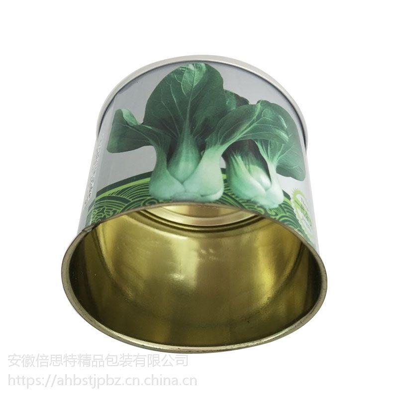 蔬菜种子罐 叶菜铁罐 青梗菜种子罐定制